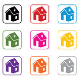 vector home symbols Stock Image