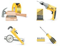 Free Vector Homebuilding & Renovating Icon Set. Part 1 Stock Image - 14308471