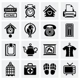 Vector Homey icon set Stock Photography