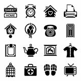 Vector Homey icon set Royalty Free Stock Photography
