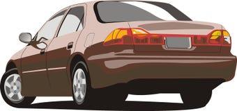 Vector Honda Accord ilustración del vector