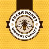 Vector honey logo Stock Photos
