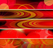 Vector Horizontal Banner Royalty Free Stock Photography