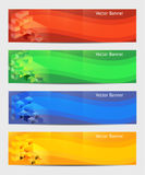 Vector Horizontal Banner Stock Photography