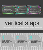 Vector horizontal steps Stock Photo