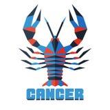 Vector horoscope, polygonal flat zodiac sign, astrological sign. Horoscope, polygonal flat zodiac sign, astrological sign royalty free illustration