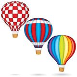Vector Hot Air Balloons Stock Photo