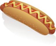 Vector Hot Dog Royalty Free Stock Photos