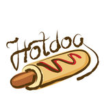 Vector Hot Dog Stock Images
