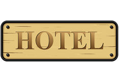 Vector hotel sign Stock Photo