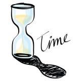 Vector hourglass Stock Photo