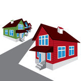 Vector house, architecture Stock Photo