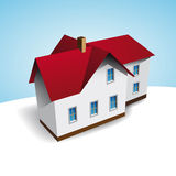 Vector house Royalty Free Stock Photo