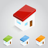 Vector house icons Stock Image