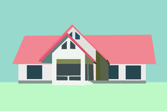 Vector of house Royalty Free Stock Images
