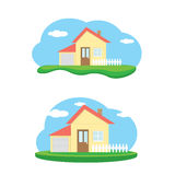 Vector house illustration. home sweet home Stock Image