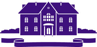 Vector house mansion illustration Stock Photo
