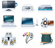 Free Vector Household Appliances Icons. Part 7 Royalty Free Stock Images - 11982319