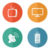 Vector household icons Royalty Free Stock Photo