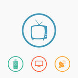 Vector household icons Stock Photography