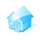 Vector huispictogram Stock Afbeeldingen