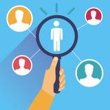 Vector human resources Stock Photos