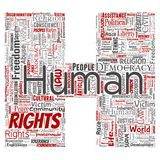 Vector human rights political freedom, democracy letter font H. Vector conceptual human rights political freedom, democracy letter font H word cloud isolated Royalty Free Stock Photos