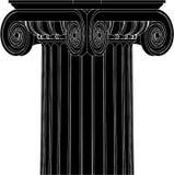 Vector iónico griego 04 de la columna Foto de archivo