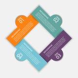 Vector i grafici variopinti di informazioni per le vostre presentazioni di affari illustrazione vettoriale