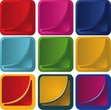 Vector i tasti Fotografia Stock