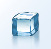 Vector ice block 2 Stock Photography