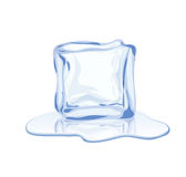 Vector ice block Royalty Free Stock Image
