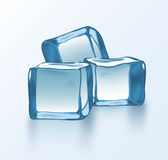 Vector ice blocks 2 Royalty Free Stock Images