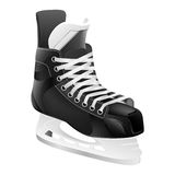 Vector ice hockey skate, isolated Royalty Free Stock Image