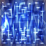 Vector ice sparkling pattern of shards and blue ice floes royalty free illustration