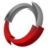 Vector icon arrow Royalty Free Stock Image