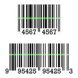 Vector icon of Barcode Sign Stock Photography