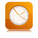 Vector icon of Clock Stock Images