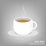 Vector icon of coffee cup Royalty Free Stock Image