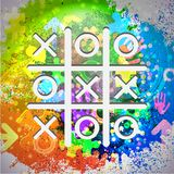 Vector icon. Colorful abstract background. Eps10 Royalty Free Stock Image