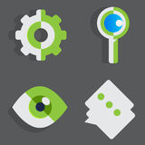 Vector Icon Design. Set of flat icon design Use Personal & Business Finance Stock Images