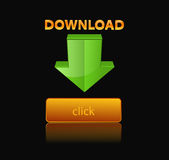 Vector icon download Royalty Free Stock Images