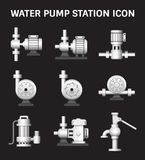 Water Pump Station Royalty Free Stock Photography