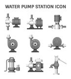 Water Pump Station Royalty Free Stock Image