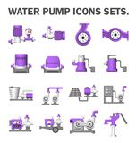 Water Pump Station Royalty Free Stock Photos