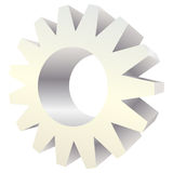 Vector icon gear Stock Photography