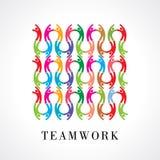 Vector Icon Graphic Teamwork Stock Image