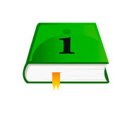 Vector icon of information book Stock Photo