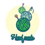 Balls of yarn Royalty Free Stock Image
