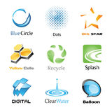 Vector Icon Set 1 Royalty Free Stock Photography